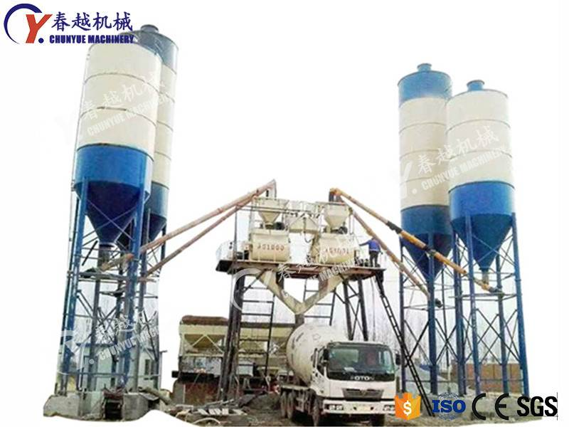 made in china our factory concrete mixing plant in Ethiopia