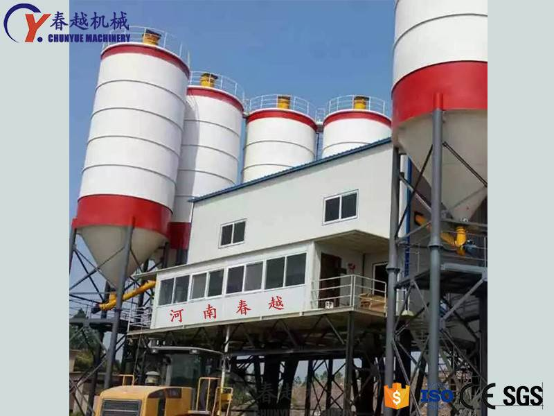 china China factory concrete mixing plant factory