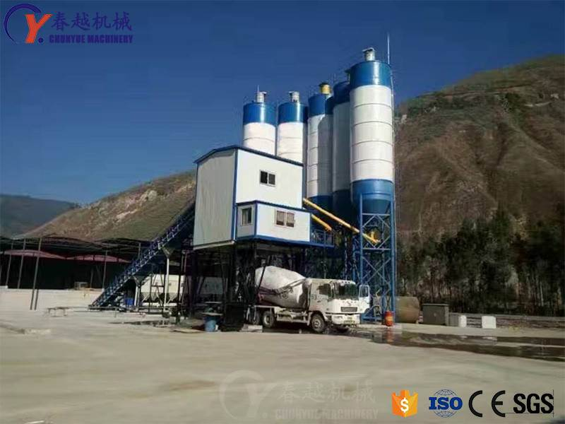 china low cost concrete mixing plant manufacturer