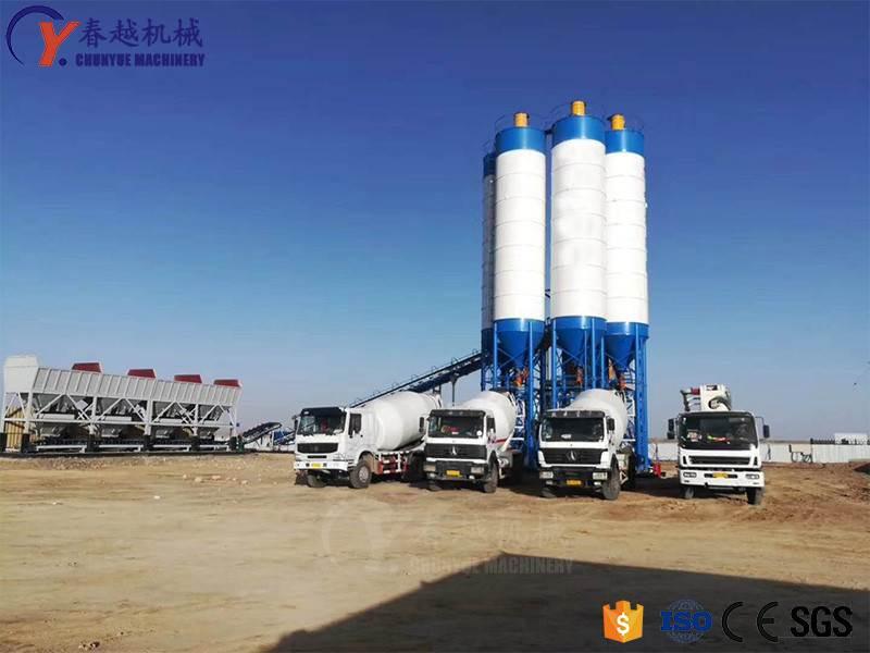 china hot sale concrete mixing plant in Sri Lanka