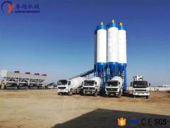 Function and Maintenance of Air Compressor in Concrete Mixing Station