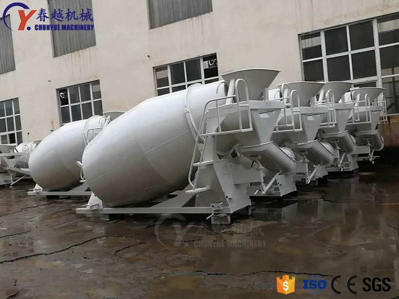 made in china concrete truck exporter competitive price