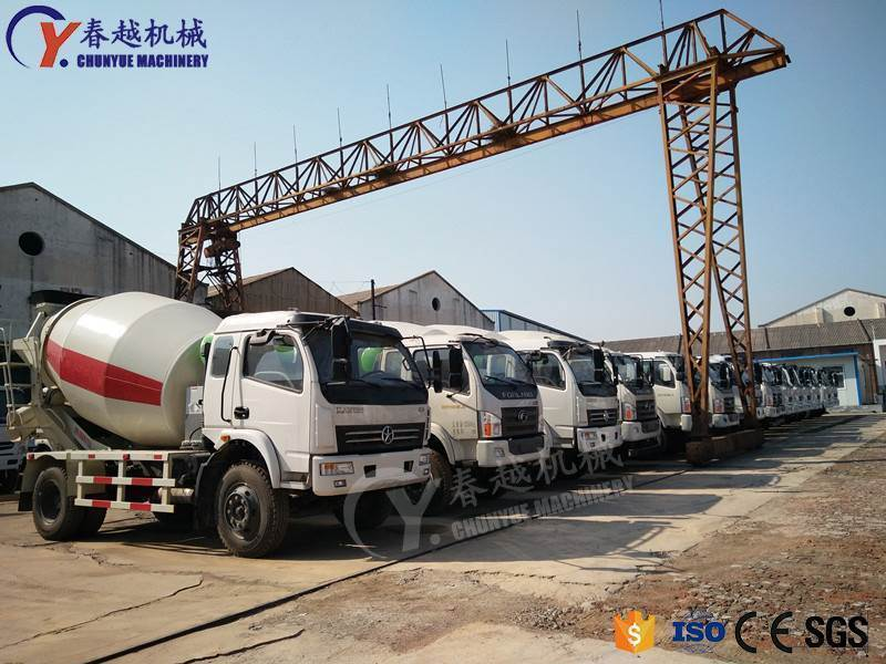 made in china China concrete truck dealer
