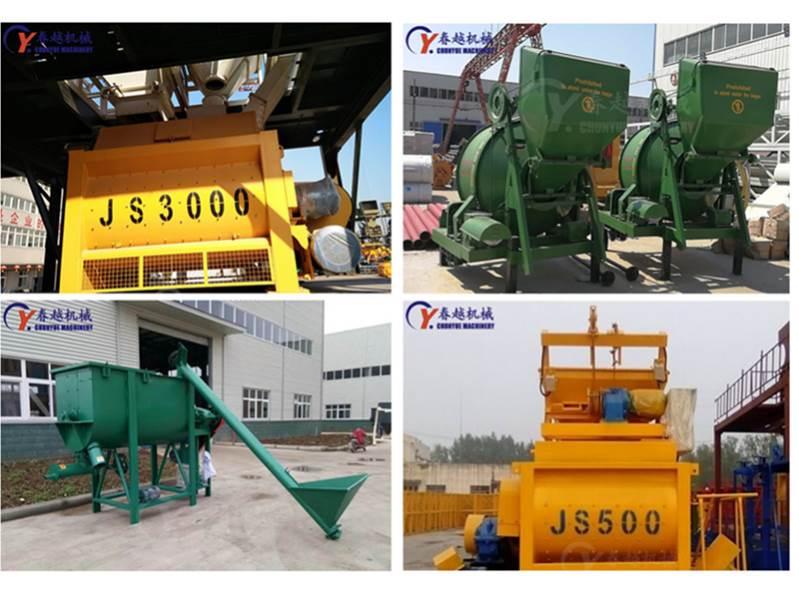 JS2000 concrete mixer our factory