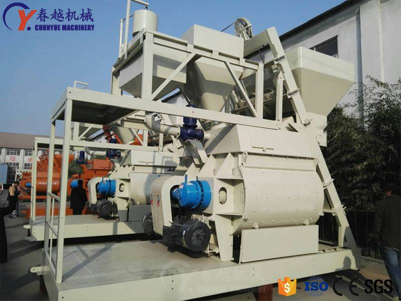 Four Main Points for Selection and Purchase of Concrete Mixers