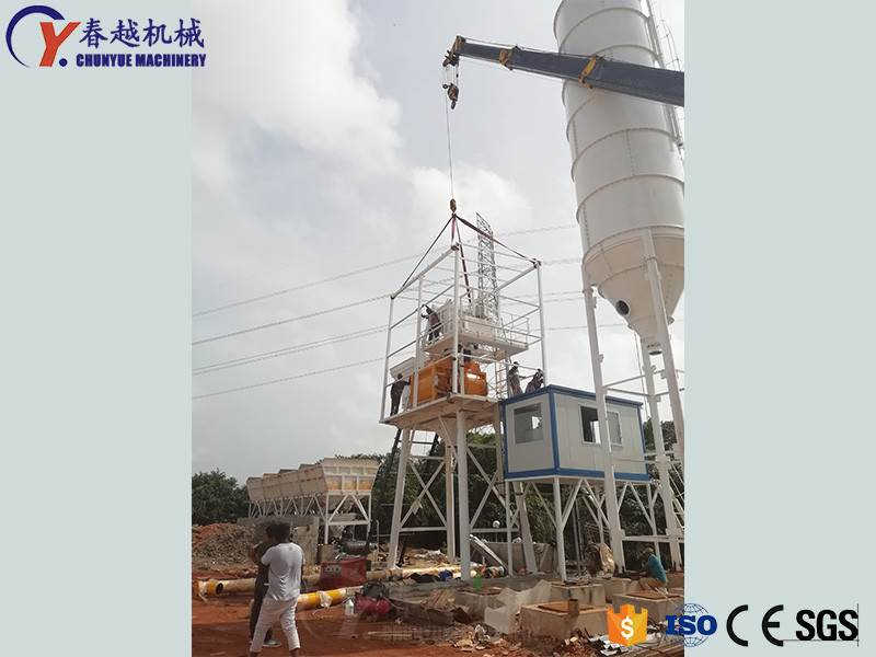 Mixing plant manufacturers are not afraid that the products will not sell