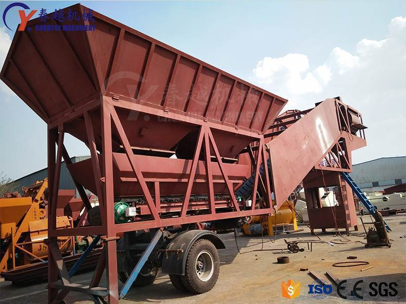 Mobile Batching Plant for Sale Good Supplier