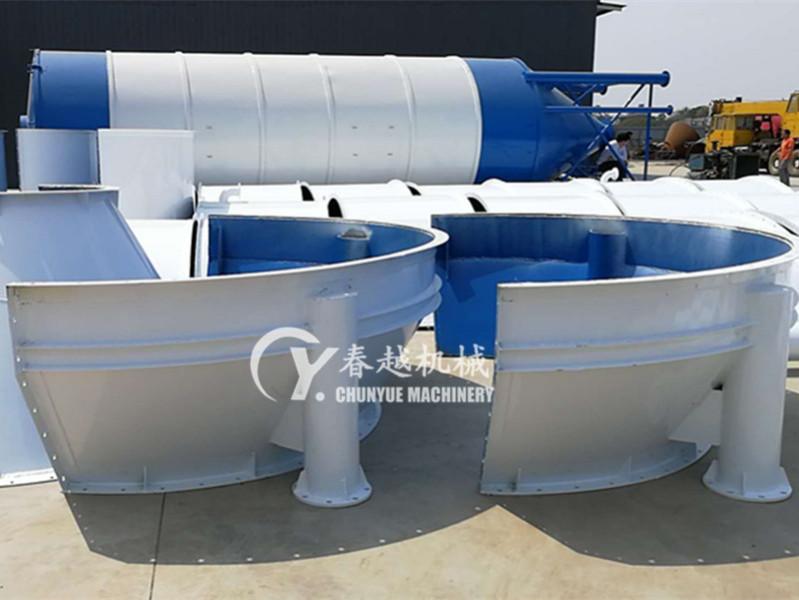 china concrete batching plant silo