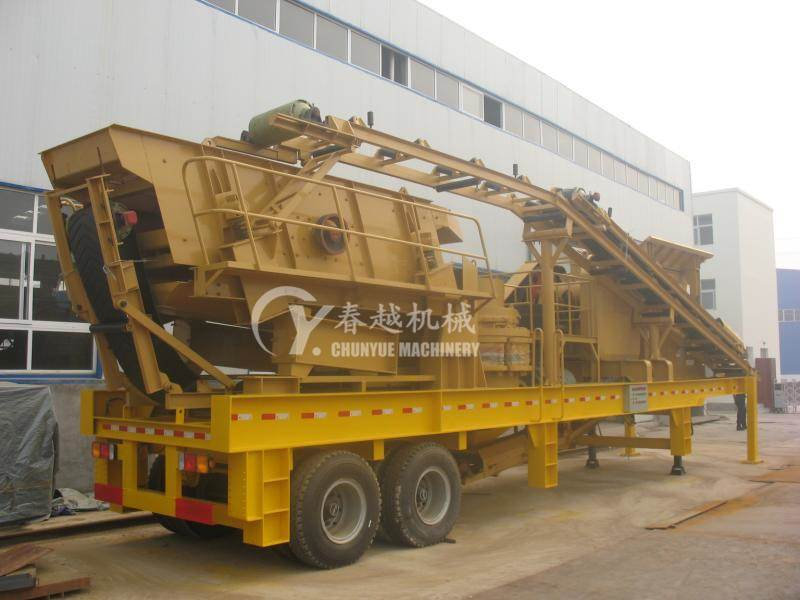 made in china mobile concrete batching plant