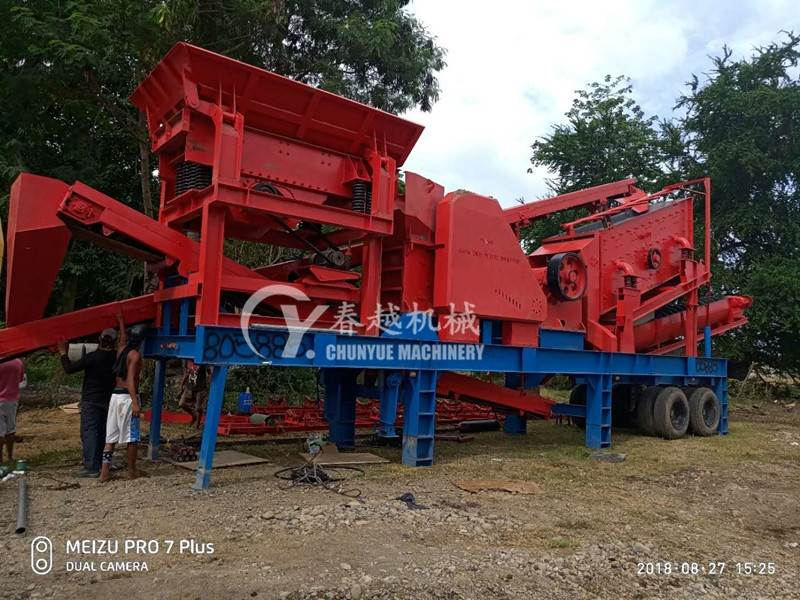 china mobile concrete batching plant