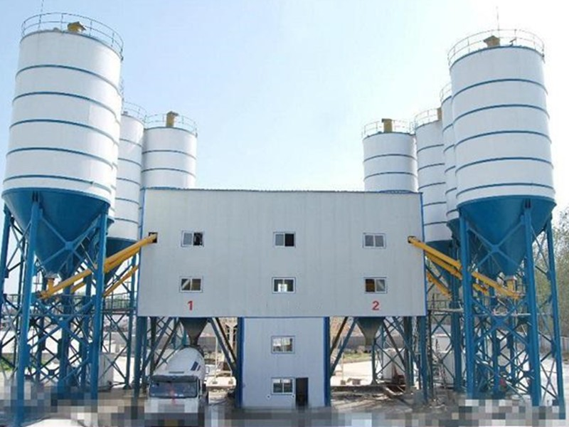 Indian concrete mixing plant supplier