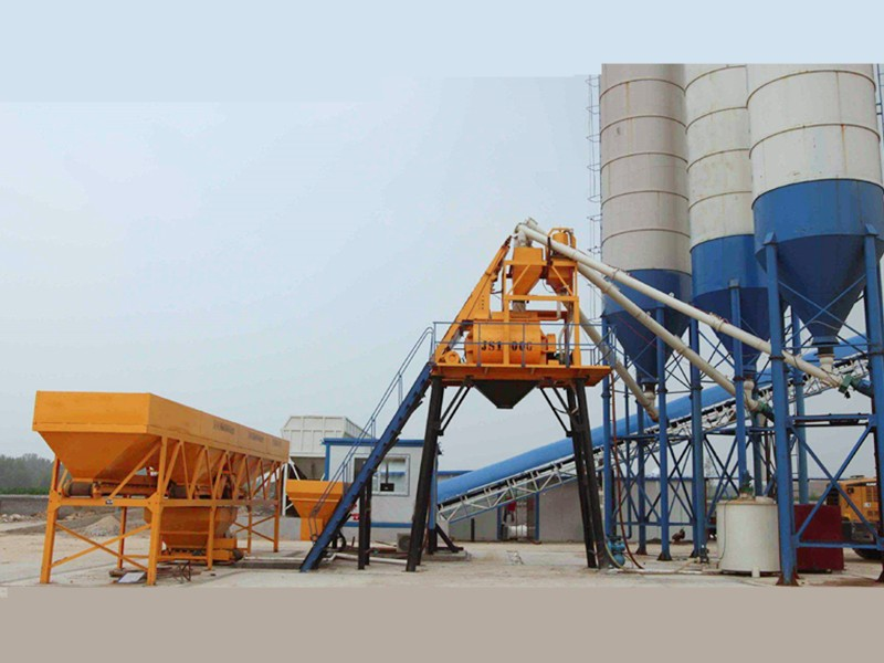 Introduction to the Composition of Concrete Mixing Station