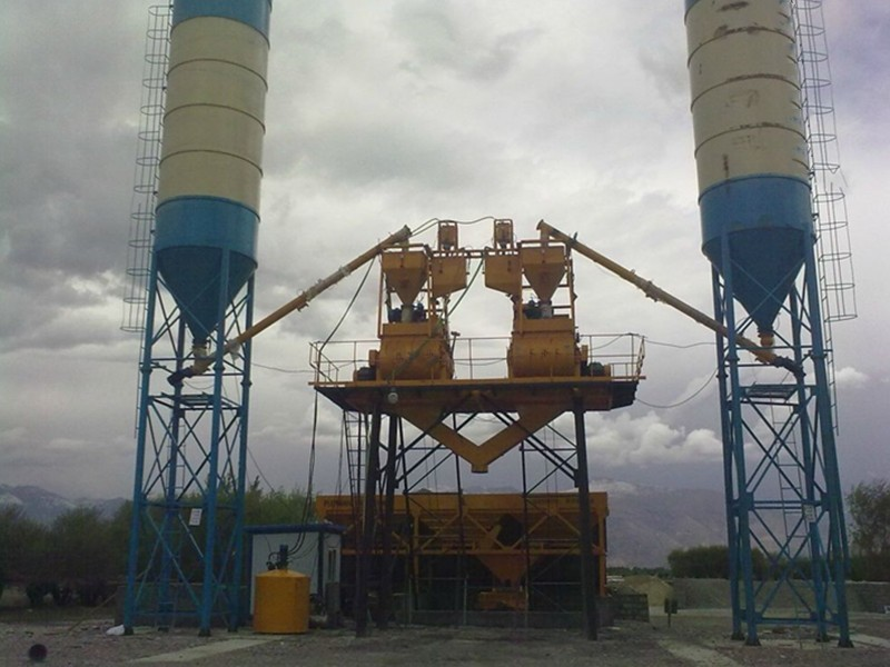 How to Lubricate Concrete Mixing Station