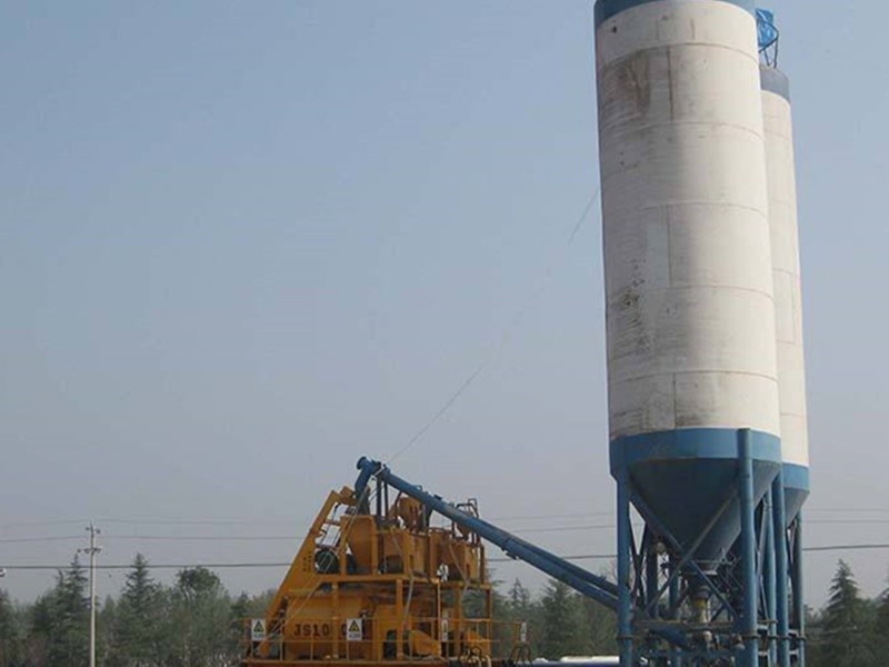 What is the transport equipment of concrete mixing station