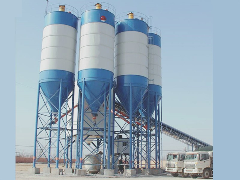 How should we control the water consumption of concrete in concrete mixing station