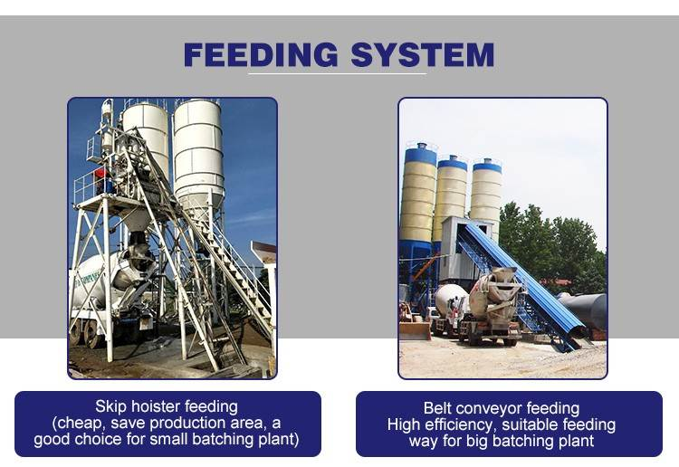 Concrete mixing plant high quality