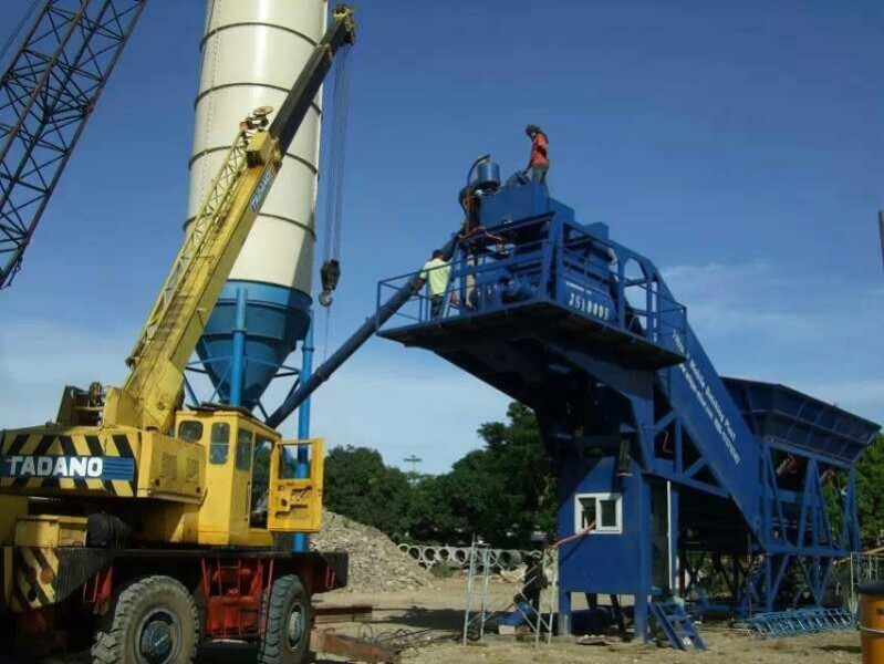 Concrete Batching Plant China