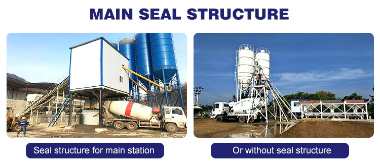 China Manufacturer of High Quality Concrete Mixing Station in Pakistan