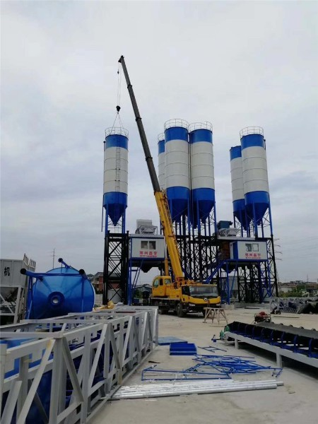 China hzs concrete batching plant High quality price