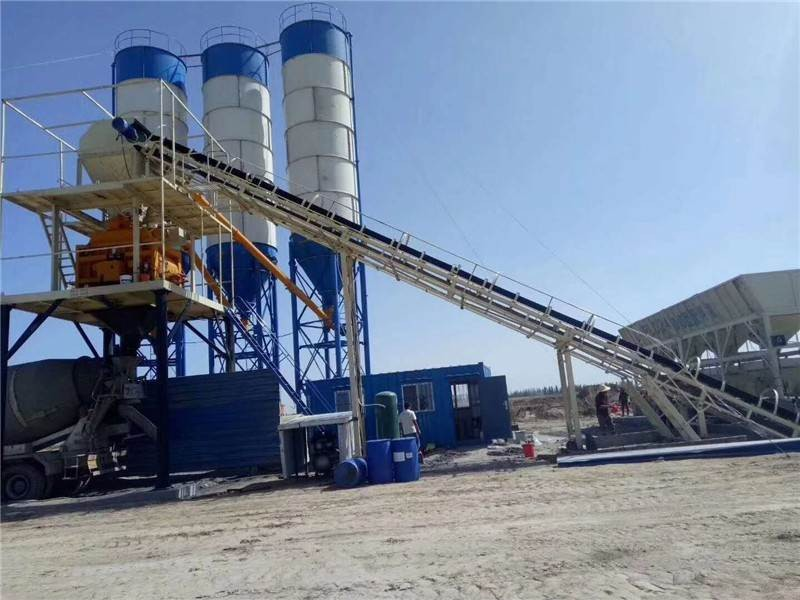 Concrete Batching and Mixing Plant Manufacturers