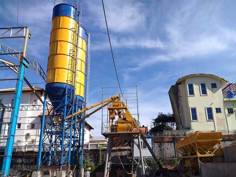 Concrete Batching Plant JS
