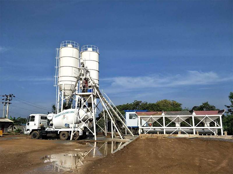 On Sale Concrete Batching and Mixing Plant Manufacturers