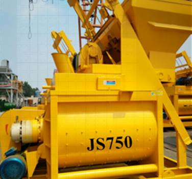 China JS750 concrete mixer Cost price