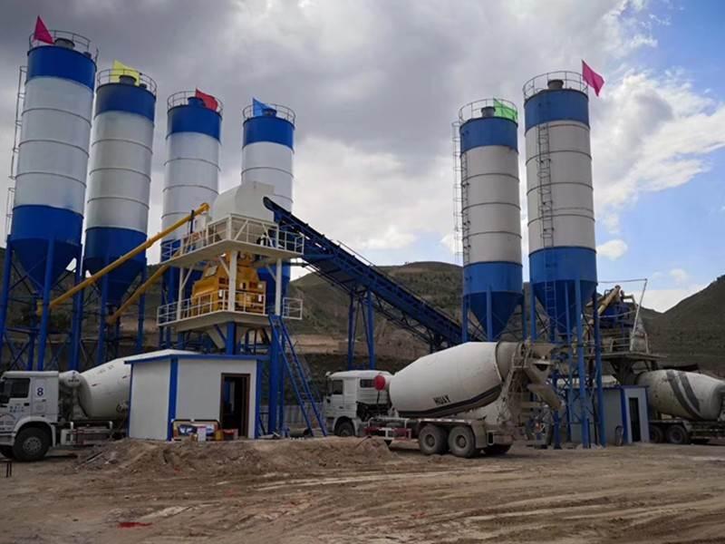 concrete mixing plant model Best Manufacturer