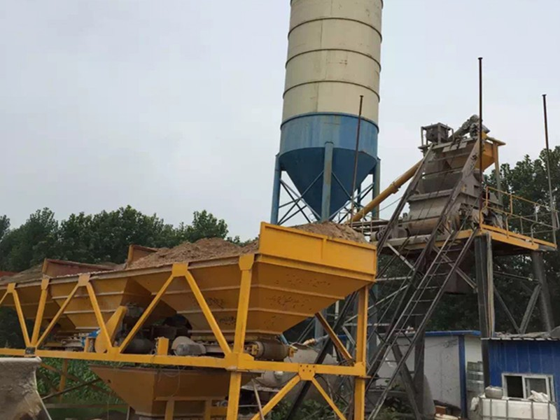 China HZS25 concrete mixing plant High Quality Price