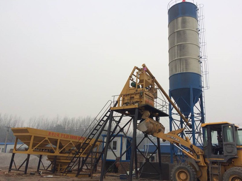 China hzs75 concrete mixing plant Floor price