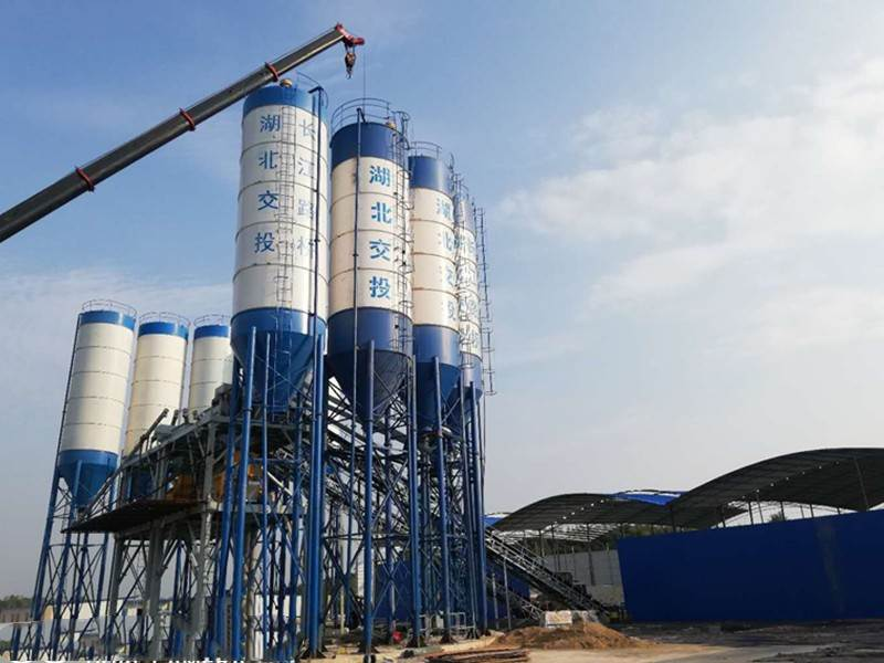 Concrete mixing station for sale in Brazil