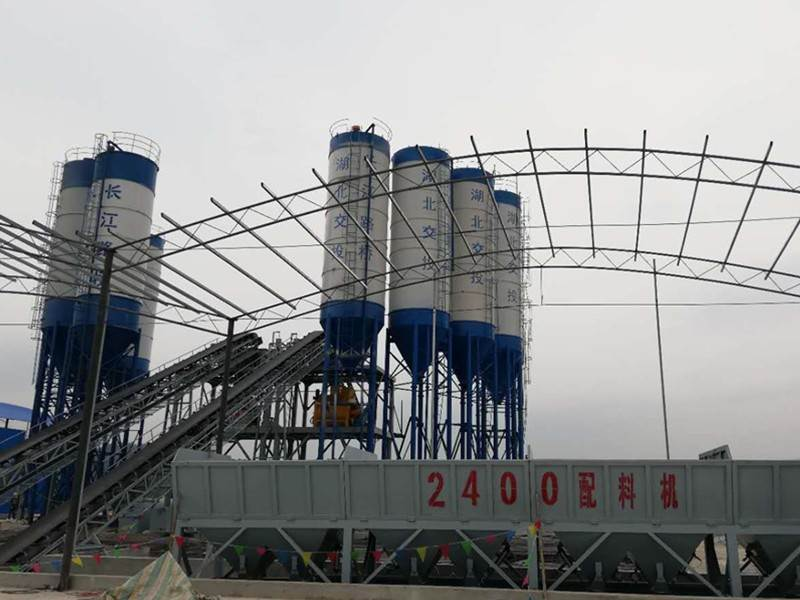 how does concrete mixing plant work