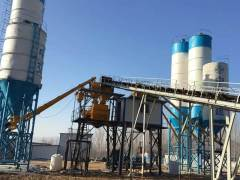 China  hzs120 concrete mixing plant function