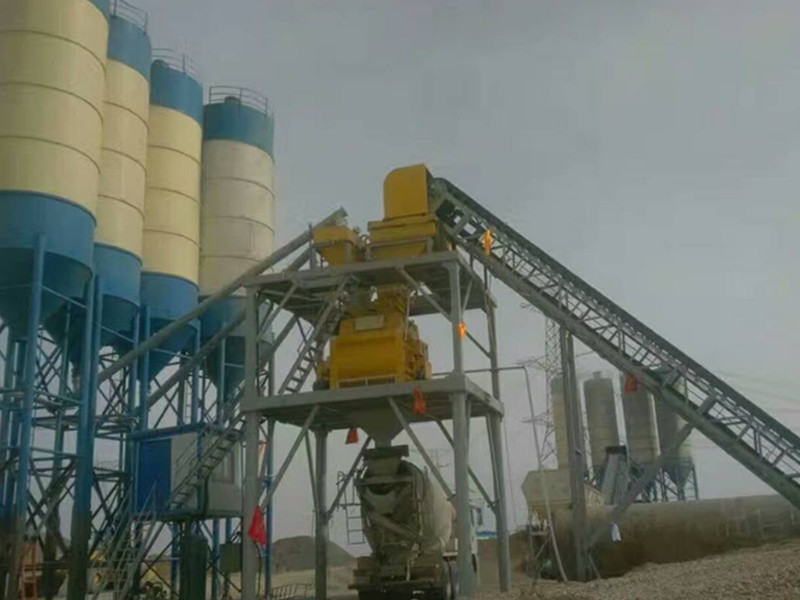 small concrete mixing plant OEM