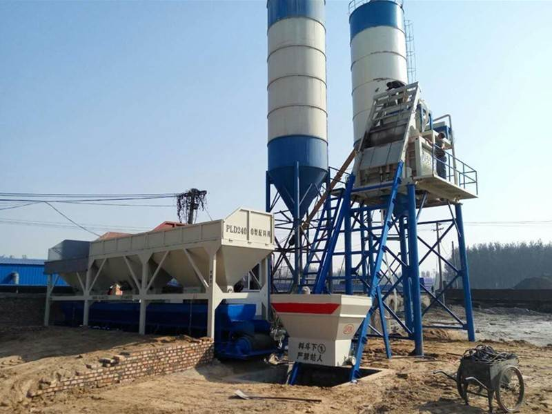 China HZS25 concrete mixing plant Price