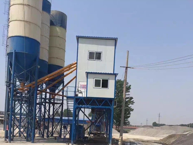 China Fixed Concrete Mixing Station