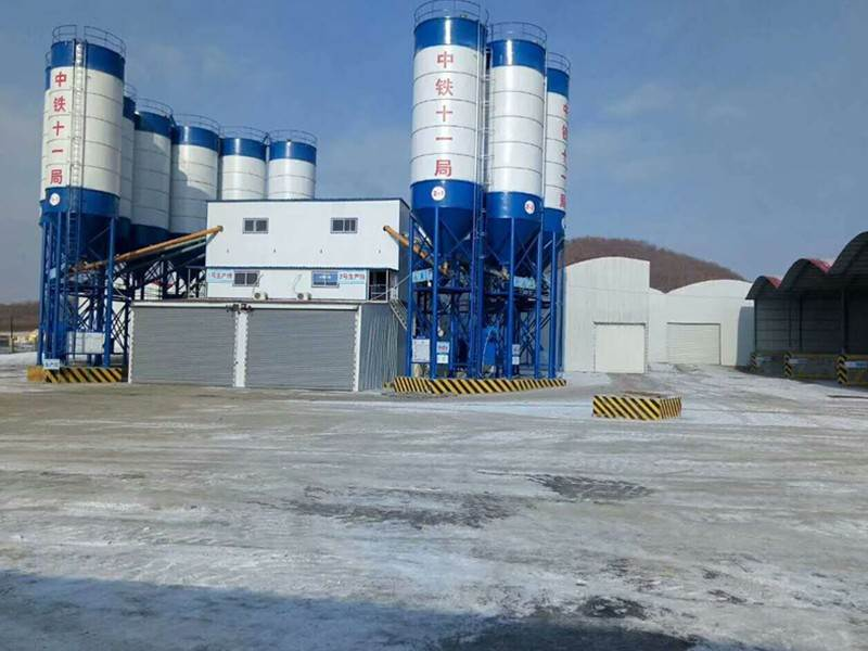 Maintenance of HZS Concrete Mixing Station Components