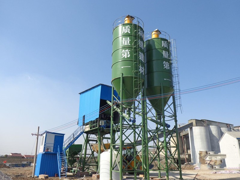 China mini concrete batching plant for sale