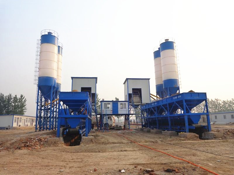 mobile concrete batching and mixing plant Good Supplier