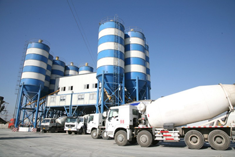 china types of concrete batching plant