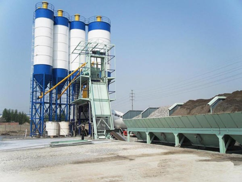 China concrete batching plant cost