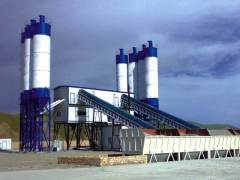 What are the characteristics of batch concrete mixing station