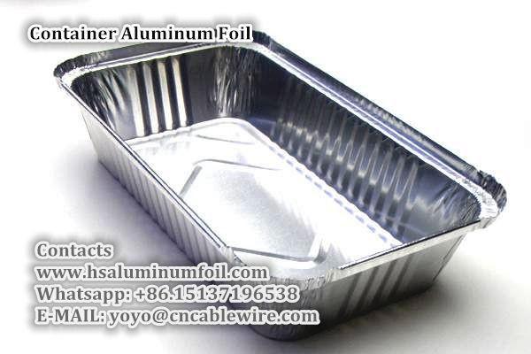 Container Aluminum Foil