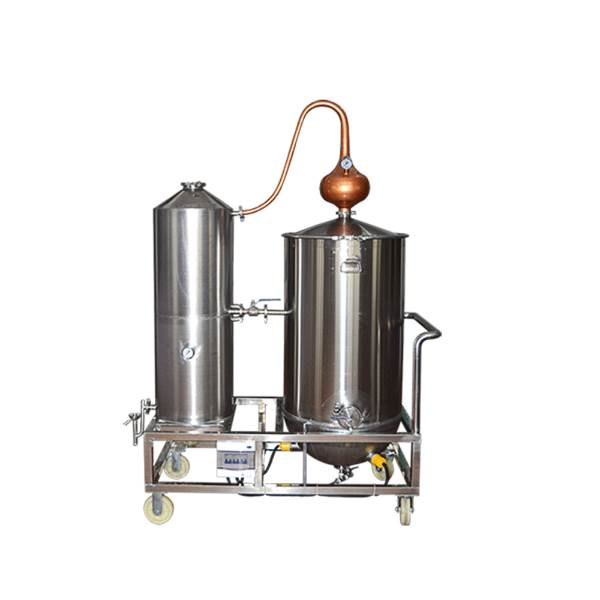 Competitive Price Red Copper Alcohol Distiller