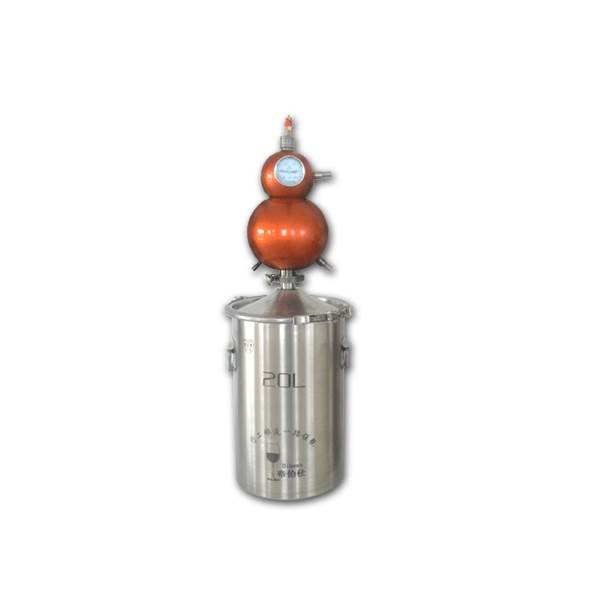 Red Copper Alcohol Distiller