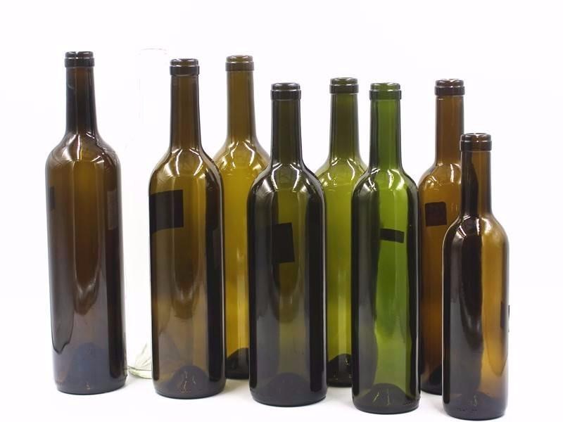 750ml glass bottle