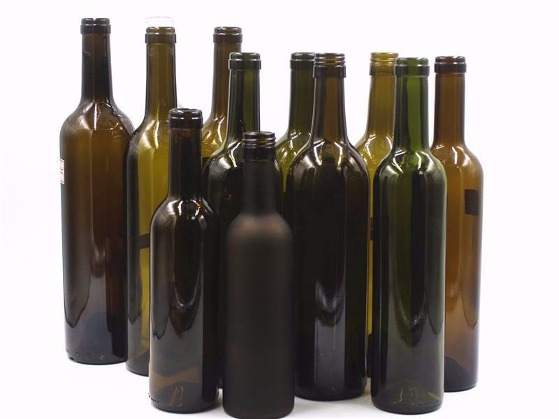 Manufacturer 750ml glass bottle