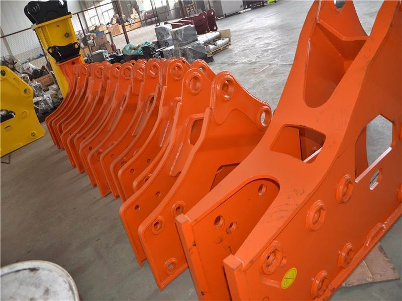 Type of hydraulic breaker shell