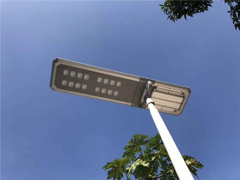 5 years warranty integrated solar street light