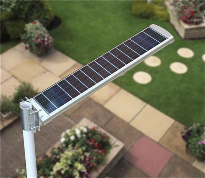 solar street lightwith pole